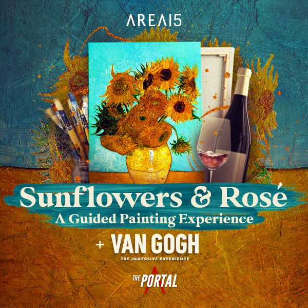 Sunflowers & Rosé: A Guided Painting Experience