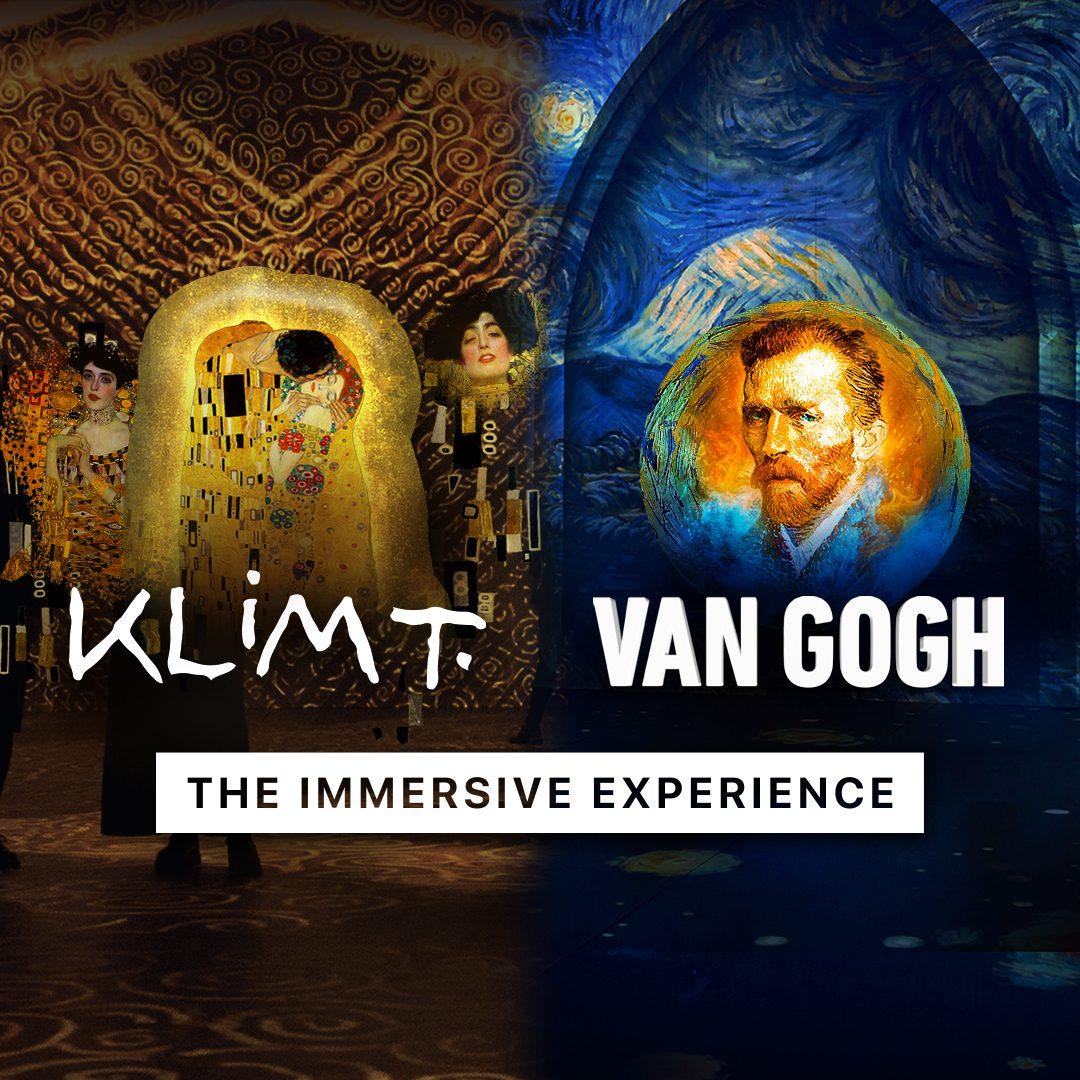 KLIMT + VAN GOGH: The Immersive Experiences Double Feature